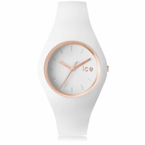 Zegarek ICE glam-White rose-gold-Medium
