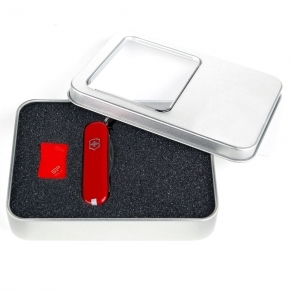 Set EG S42 - scyzoryk Victorinox + pendrive Silicon Power 16GB
